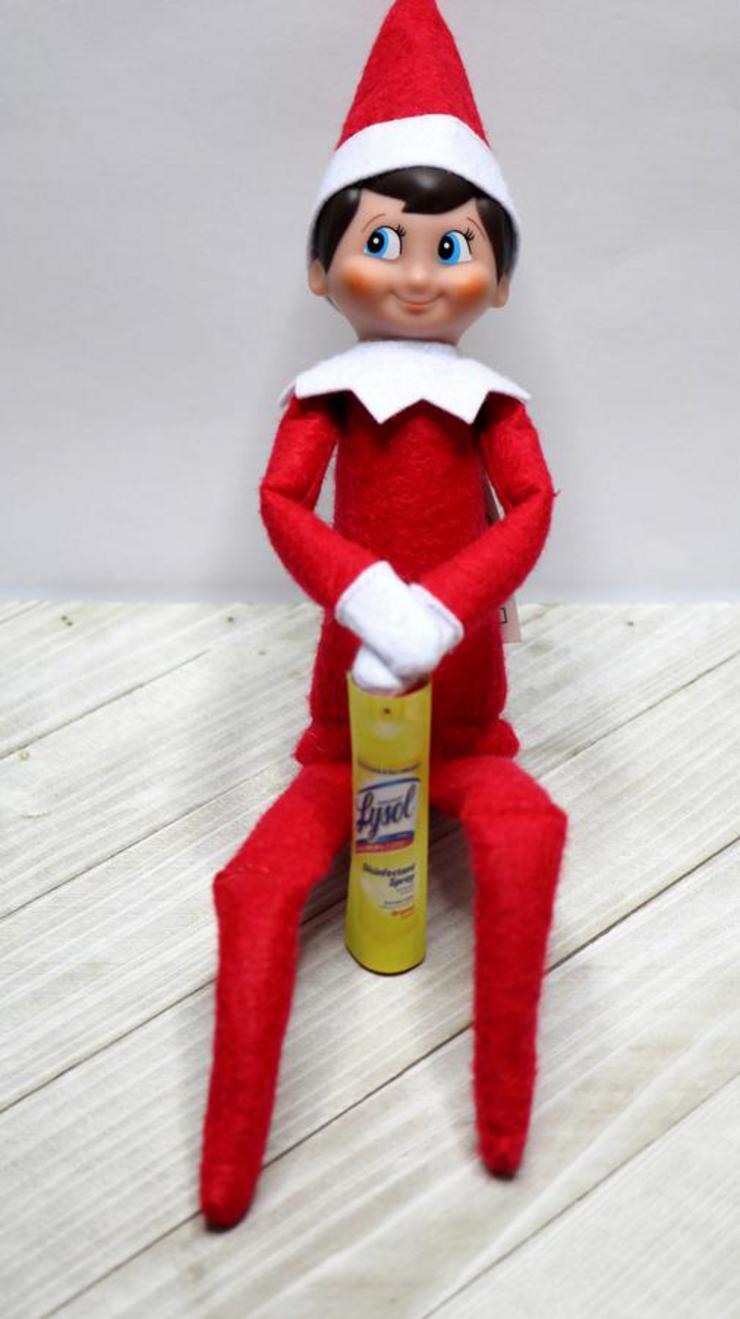Elf On The Shelf Healthy
