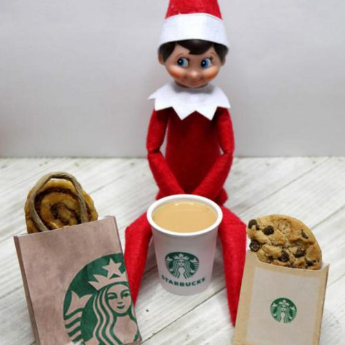 BEST Elf On The Shelf Ideas! Starbucks Ideas For Kids That Are Easy – Food Ideas – Funny – Awesome – Creative – Arrival Ideas Too!