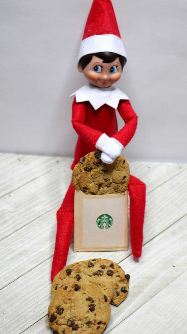 Elf On The Shelf Starbucks