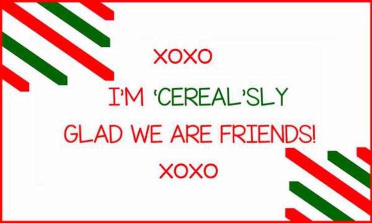 Elf Onthe Shelf Cereal