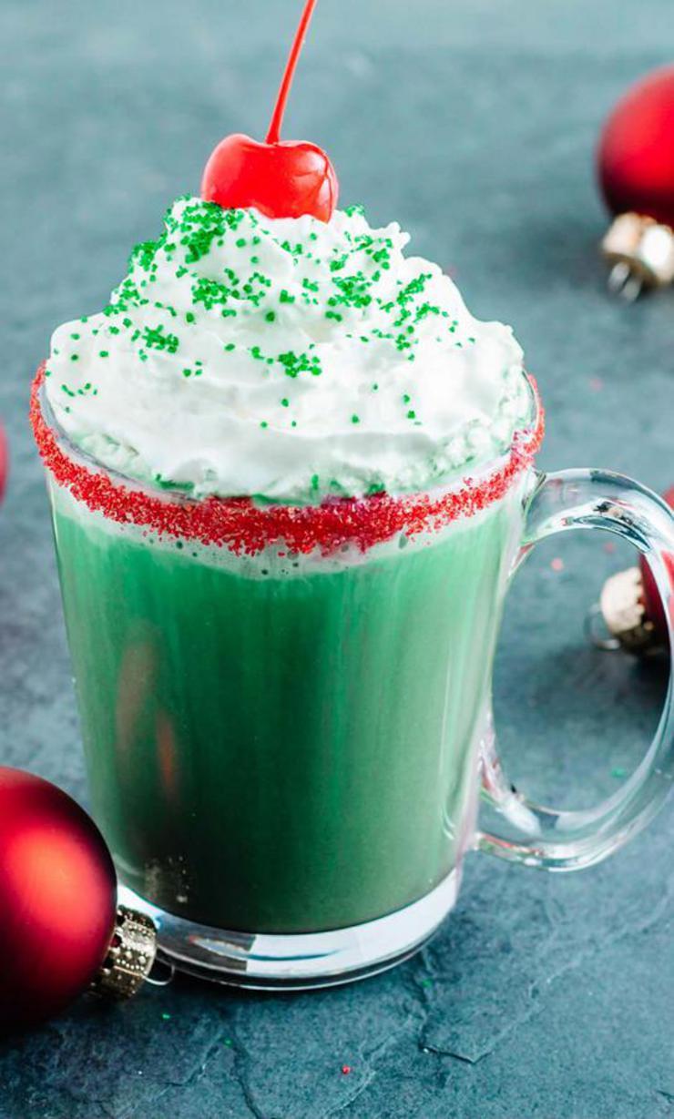Grinch Hot Chocolate