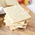 3 Ingredient Keto Crackers – BEST Low Carb Keto Saltine Cracker Recipe Copycat Crackers – Easy – Snacks – Appetizers – Keto Friendly & Beginner