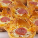 Easy Pizza Cups – Best Homemade Wonton Pizza Recipe – Finger Food – Appetizers – Snacks – Party Food – Quick – Simple