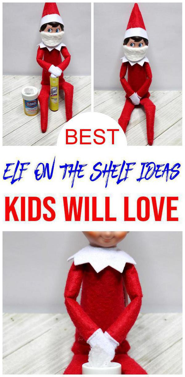 BEST Elf On The Shelf Ideas! Ideas For Kids That Are Easy – Health Ideas – Funny – Awesome – Creative – Arrival Ideas Too!