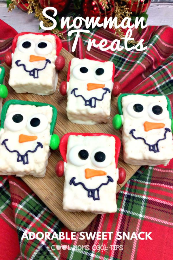 Sweet Snowman Treats