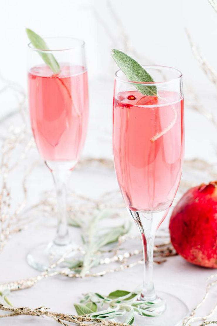 Alcohol Drinks Bubbly Champagne Cocktail