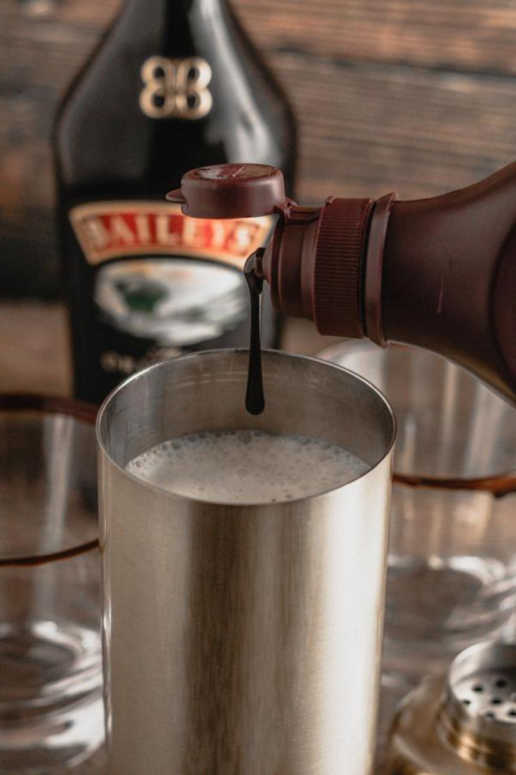 Alcohol Drinks Chocolate White Russian