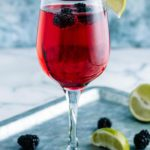 Alcoholic Drinks – BEST Blackberry Champagne Margarita Cocktail Recipe – Easy and Simple Alcoholic Drinks