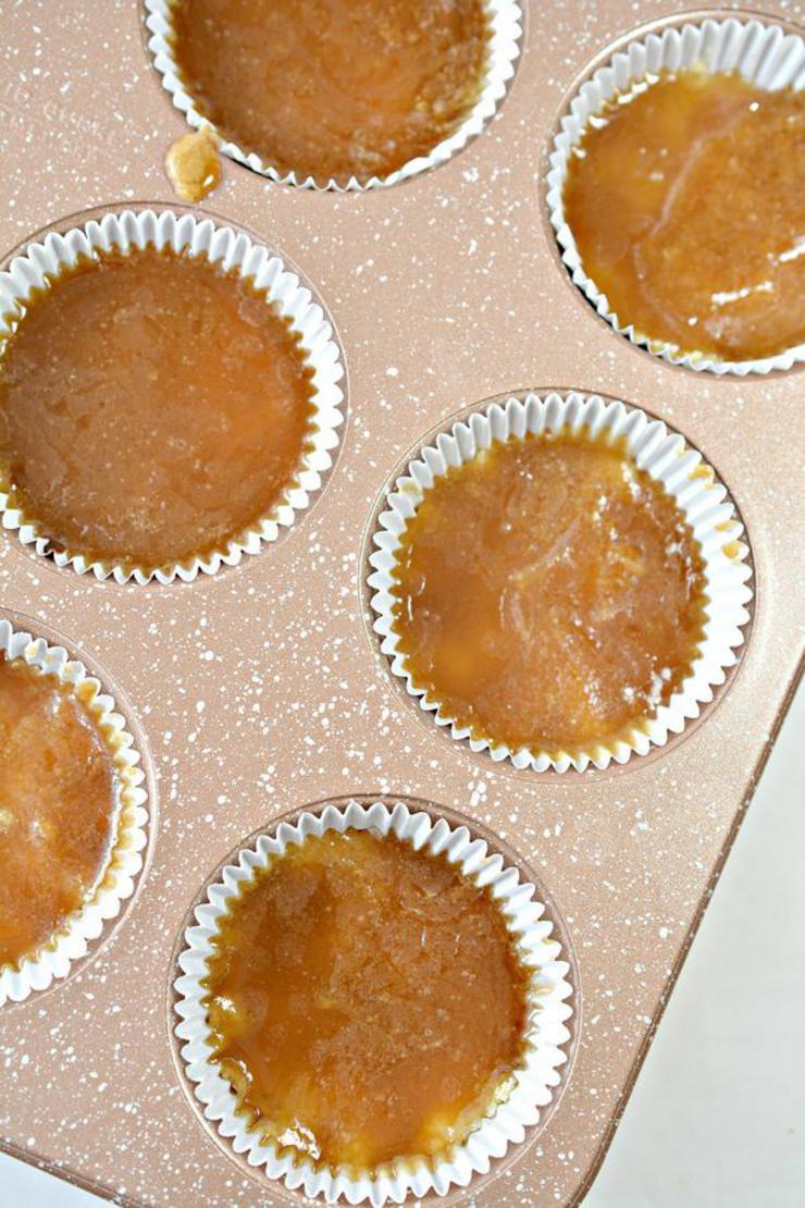 Keto Twix Cheesecake Cups
