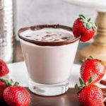 Alcoholic Drinks – BEST Chocolate Covered Strawberry Martini Cocktail Recipe – Easy and Simple Alcohol Drinks