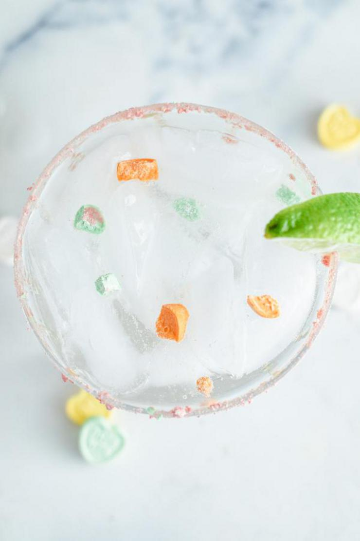 Alcohol Drinks Conversation Heart Margarita