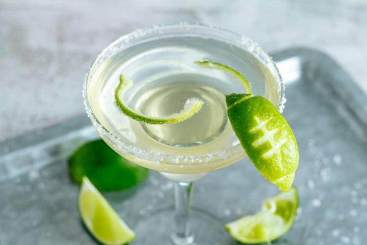 Alcohol Drinks Football Margarita