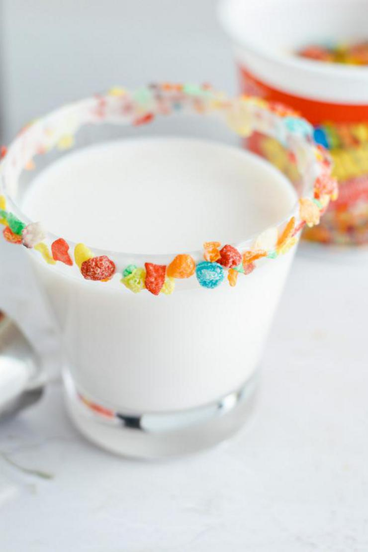 Alcohol Drinks Fruity Pebbles Cocktail