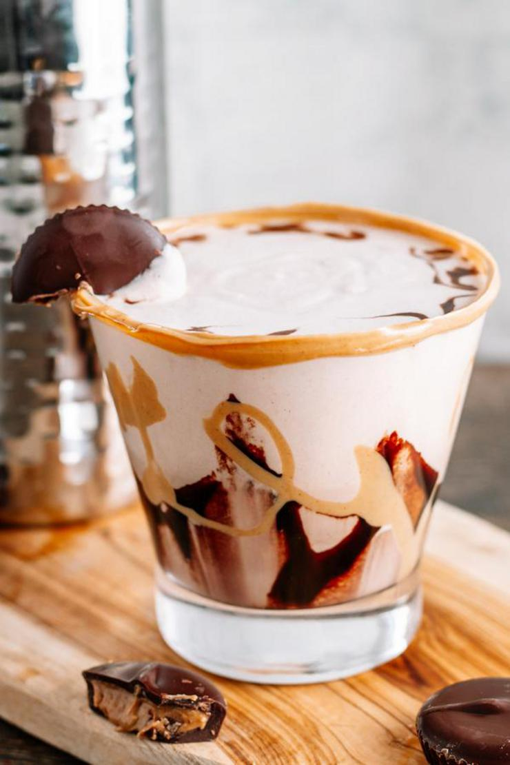 Alcoholic Drinks – BEST Reese Peanut Butter Cup Cocktail Recipe – Easy and Simple Alcohol Drinks