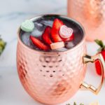 Alcoholic Drinks – BEST Strawberry Moscow Mule Recipe – Easy and Simple Alcohol Drinks
