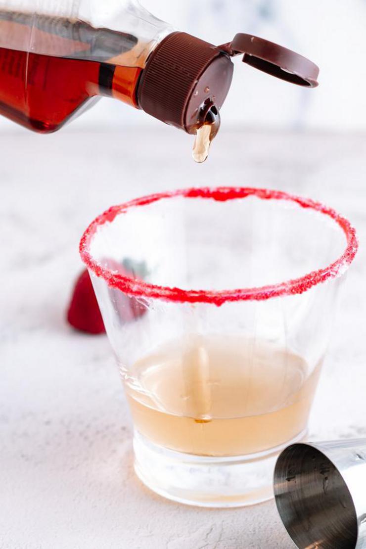 Alcohol Drinks Valentine Margarita