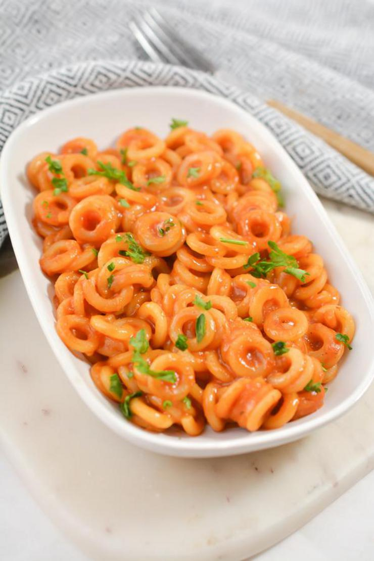 Easy Homemade Spaghettios