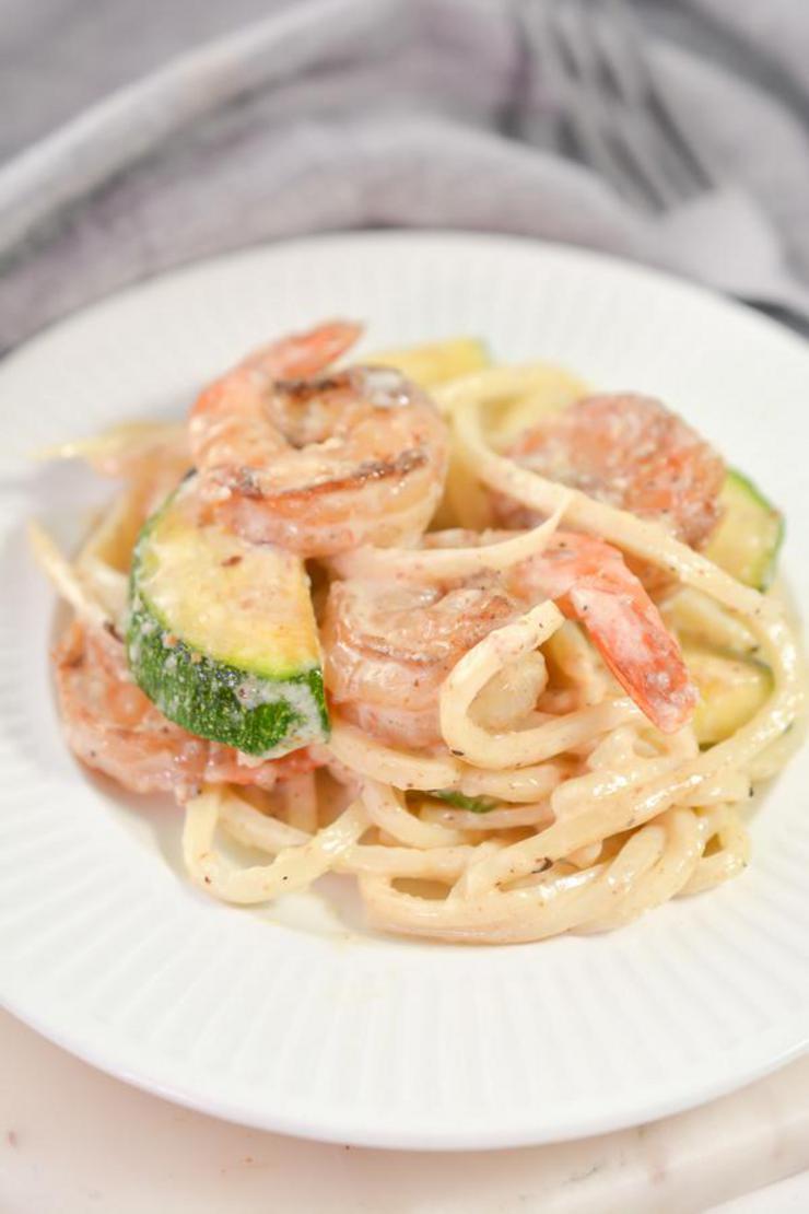Keto Cajun Shrimp Pasta