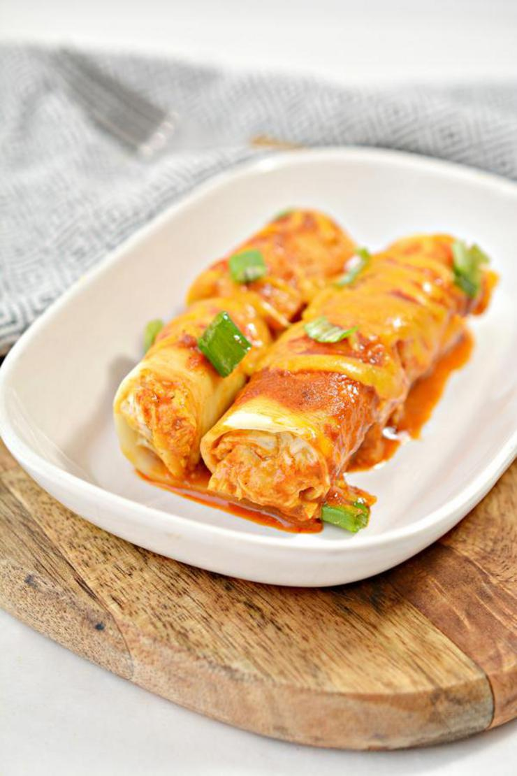 BEST Keto Lasagna – Low Carb Keto Pasta Lasagna Chicken Enchilada Roll Ups Recipe – Quick and Easy Ketogenic Diet Idea – Beginner Keto Friendly – Snacks – Appetizers – Lunch – Dinner