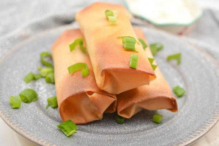 Keto Cream Cheese Chicken Taquitos_Low Carb