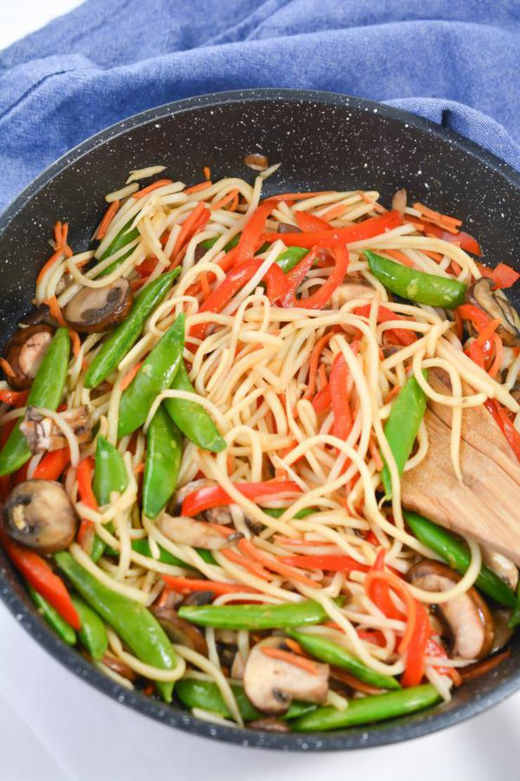 EASY Keto Lo Mein - Low Carb Lo Mein Idea – Quick – Healthy – BEST Chinese Food Recipe – Ketogenic Diet - Dinner - Lunch