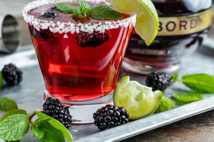 Alcohol Drinks Chambord Margarita