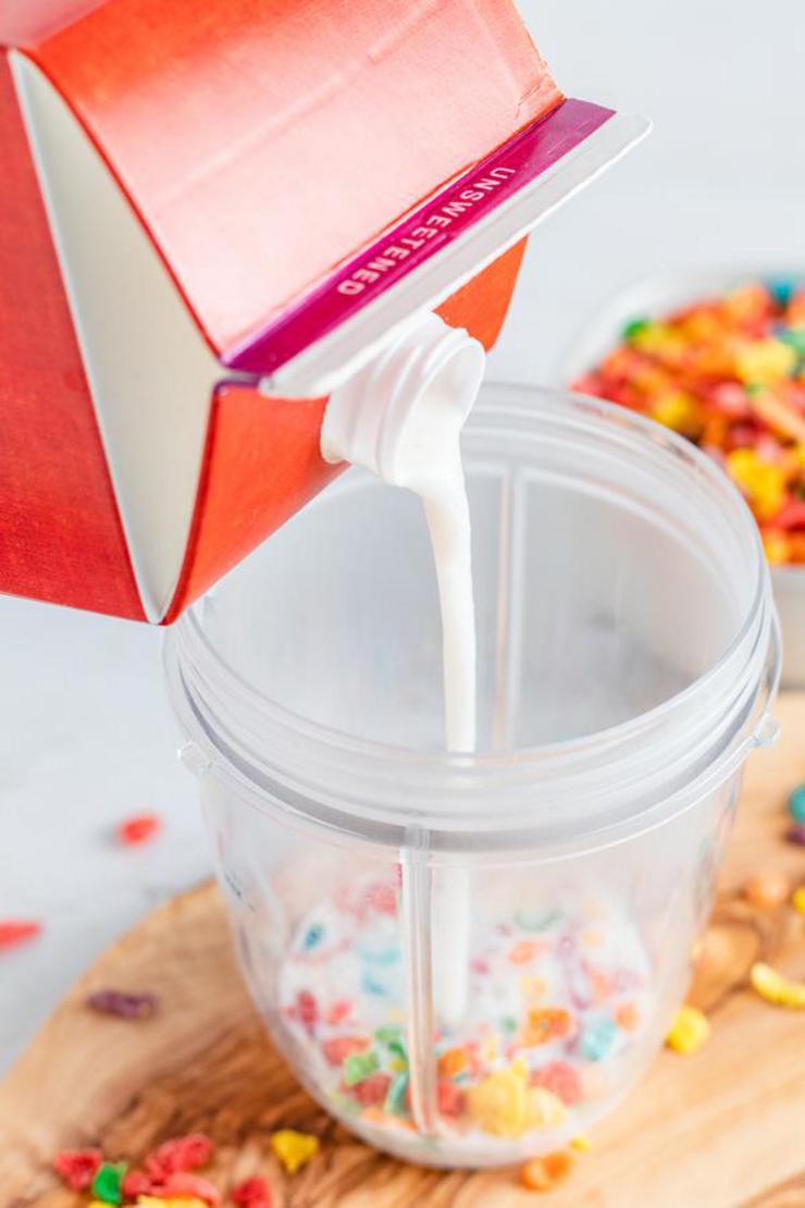 Fruity Pebbles Milkshake