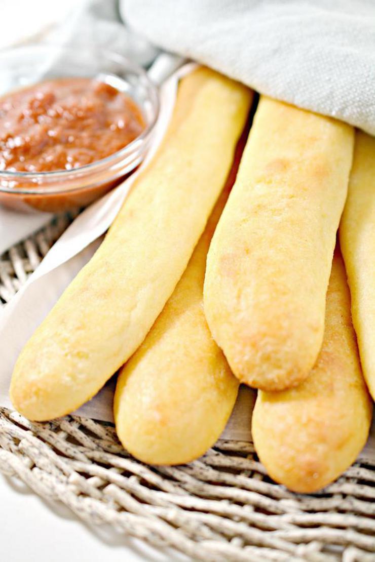 Gluten Free Breadsticks – Best Homemade Gluten Free Copycat Olive Garden Breadsticks Recipe – Dinner – Appetizers – Snacks – Party Food – Quick – Simple