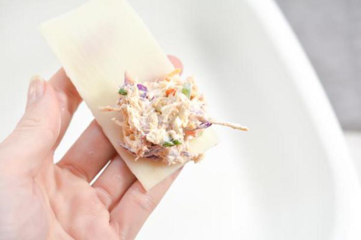 Keto Southwest Chicken Cream Cheese Lasagna Roll Ups