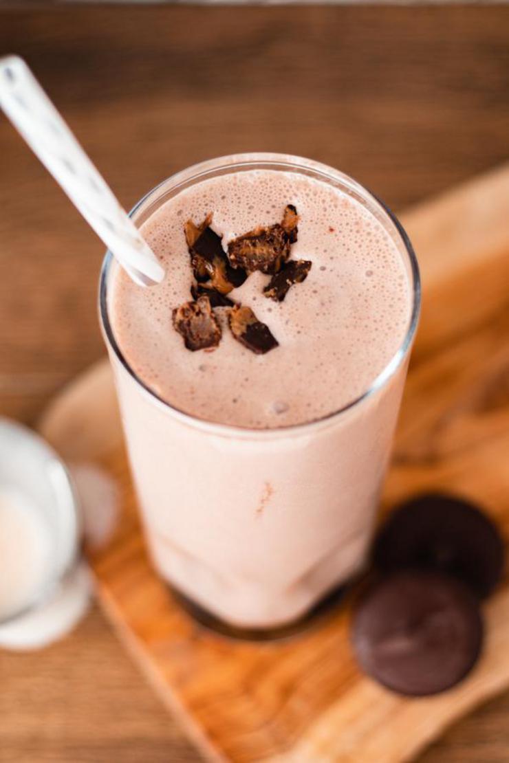 Reese Peanut Butter Cup Milkshake