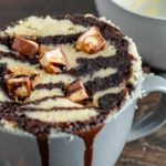 Microwave Mug Cake Recipe – Easy Microwave Snickers Mug Cake For One – Simple Baking
