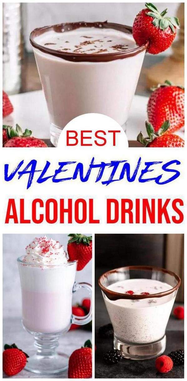 9 Best Valentine's Day Drinks - Romantic Cocktails For Easy Alcohol Drinks