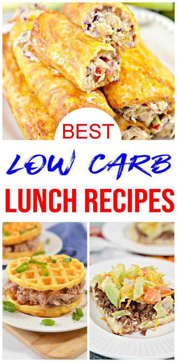 9 Low Carb Lunch Recipes That Are Insanely Delicious and Easy To Make - Keto Friendly