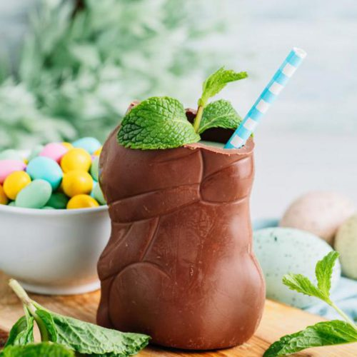 Alcoholic Drinks – BEST Chocolate Easter Bunny Cocktail Recipe – Easy and Simple Spring & Easter Alcohol Drinks