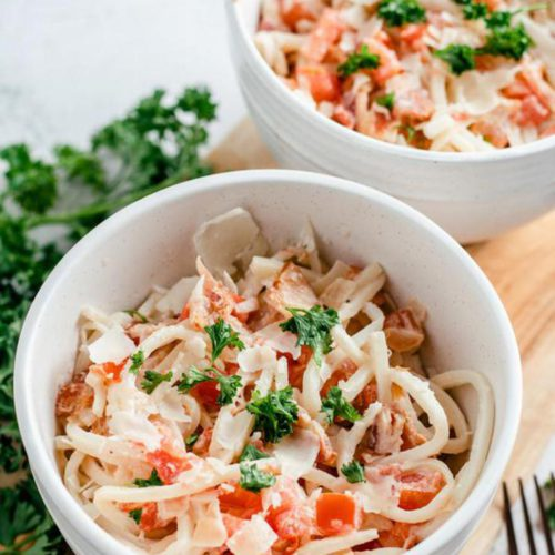 EASY Keto Vodka Pasta Sauce! Low Carb Vodka Pasta Recipe – Quick – Healthy – BEST Ketogenic Diet Dinner – Lunch