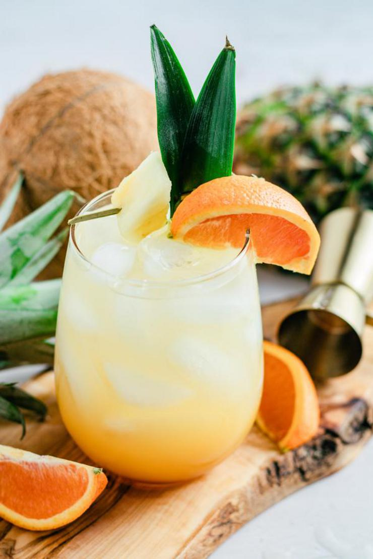 Alcoholic Drinks – BEST Bahama Mama Cocktail Recipe – Easy and Simple Alcohol Drinks