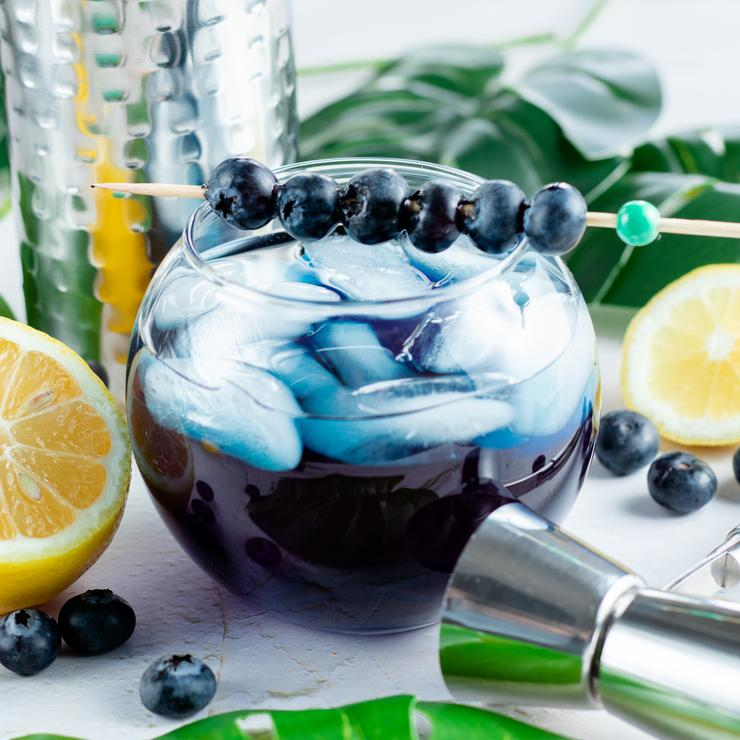 Alcohol Drinks Blue Hawaiian