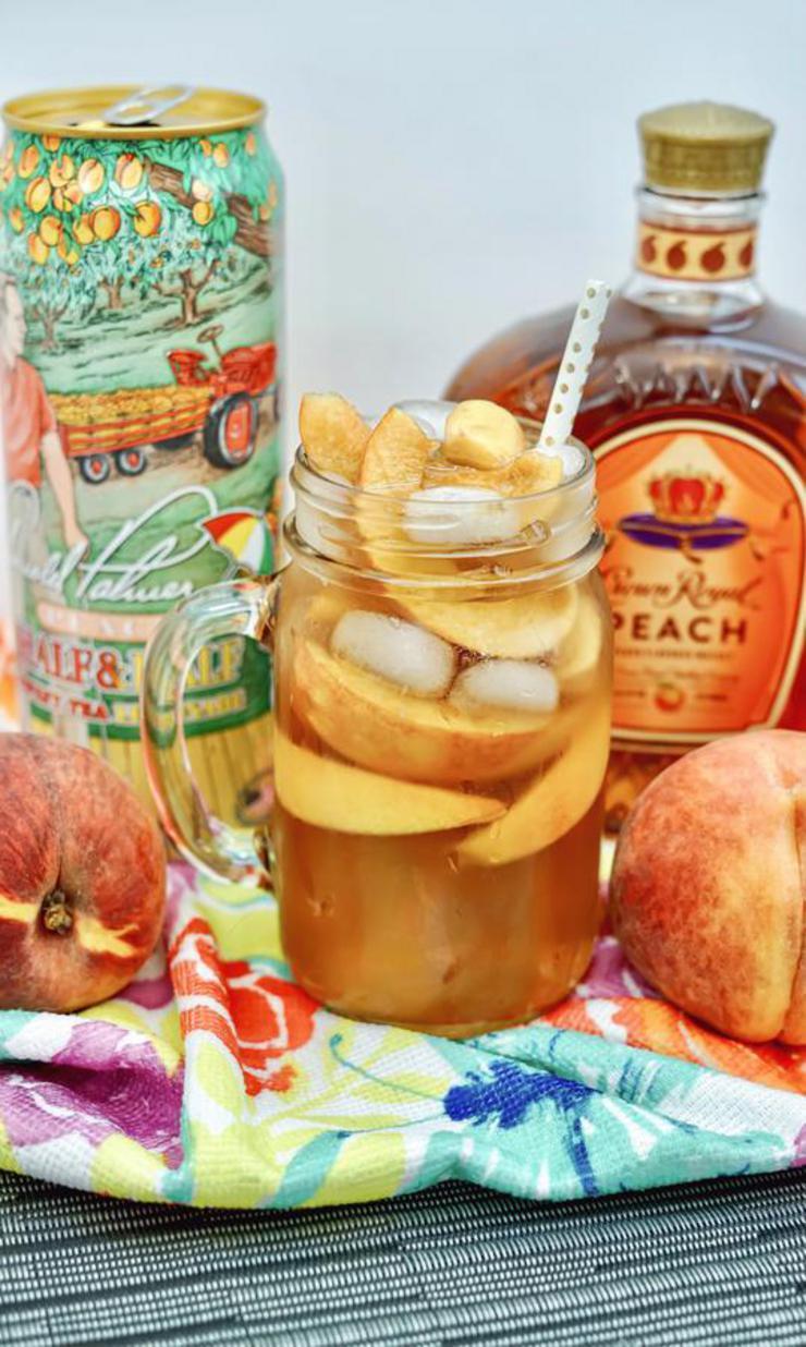 Alcohol Drinks Crown Peach Tea