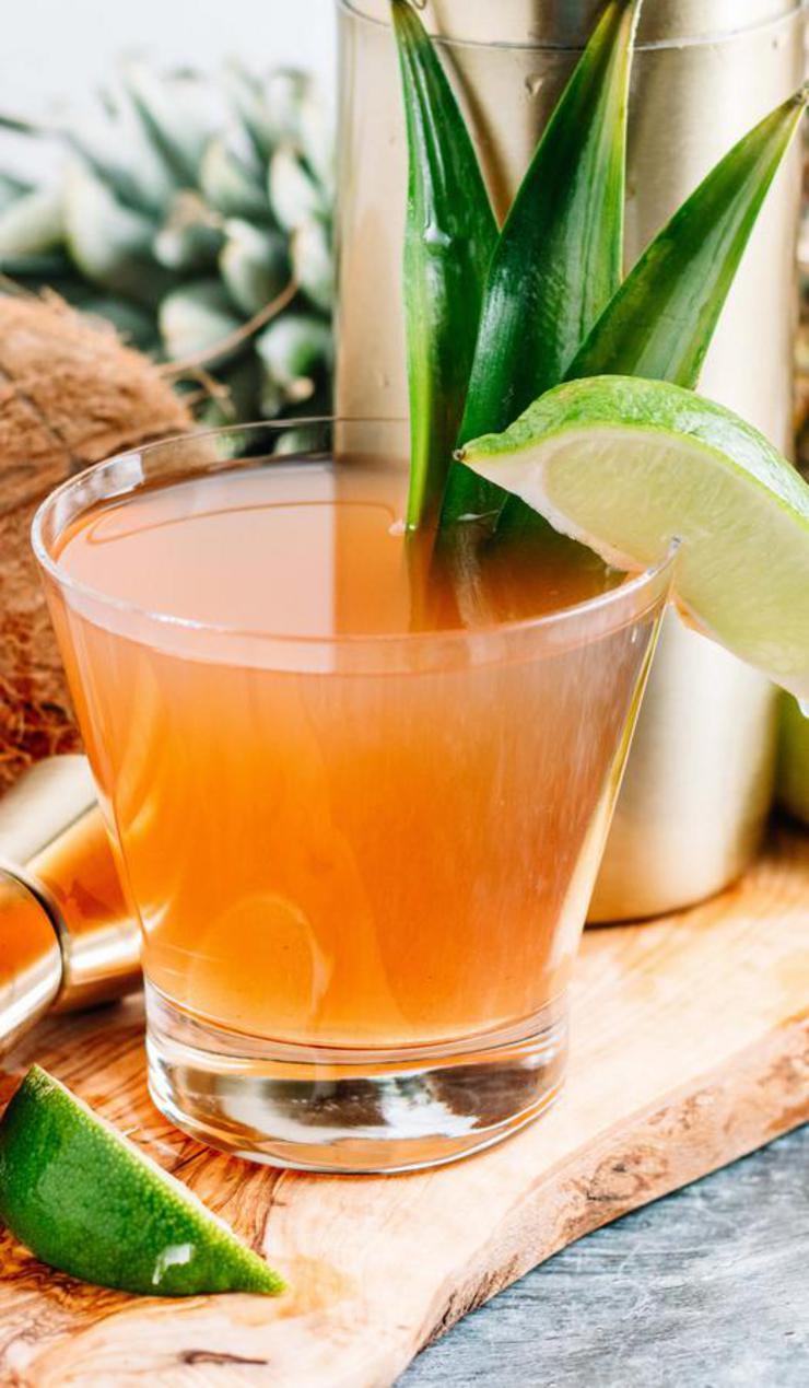 Alcohol Drinks Hawaiian Mai Tai