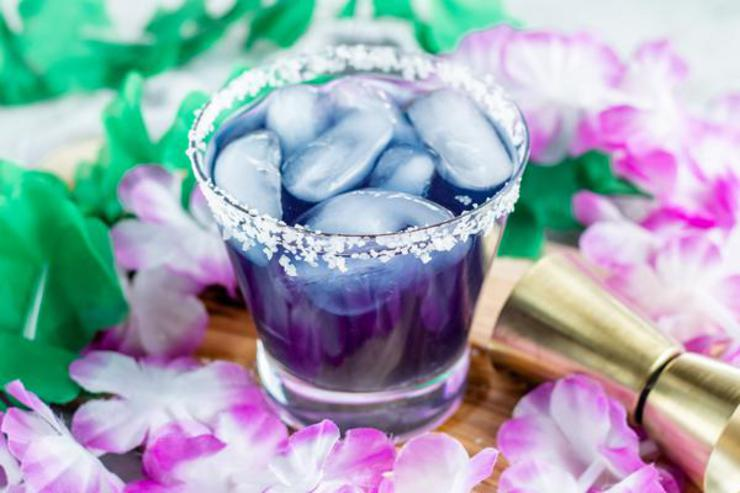 Alcohol Drinks Mermaid Margarita