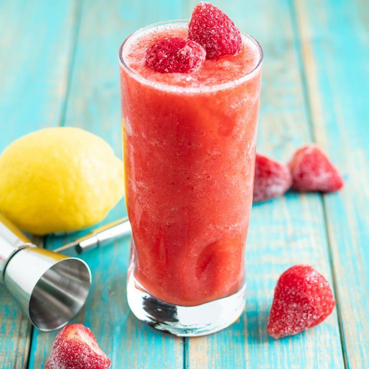 Alcohol Drinks Spiked Strawberry Lemonade Icee