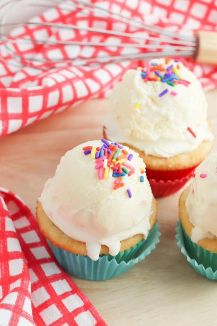 Party Food Ice Cream Cupcakes