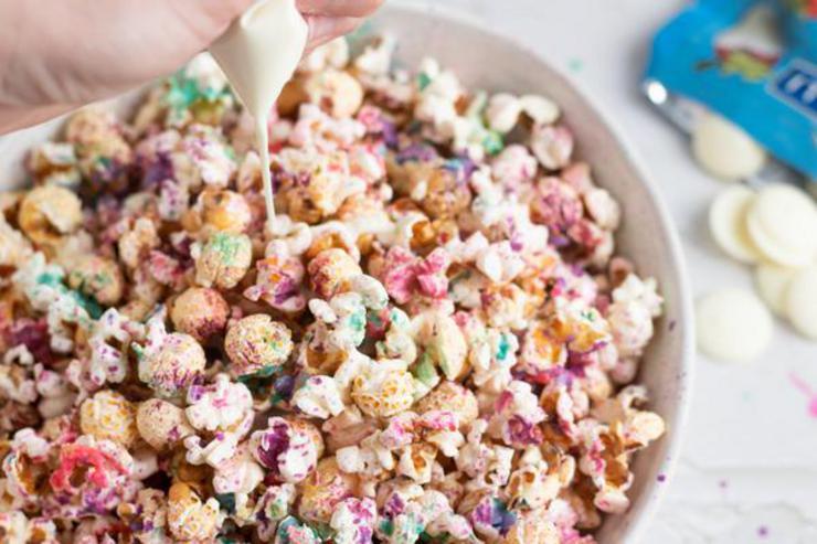 Party Food Unicorn Popcorn