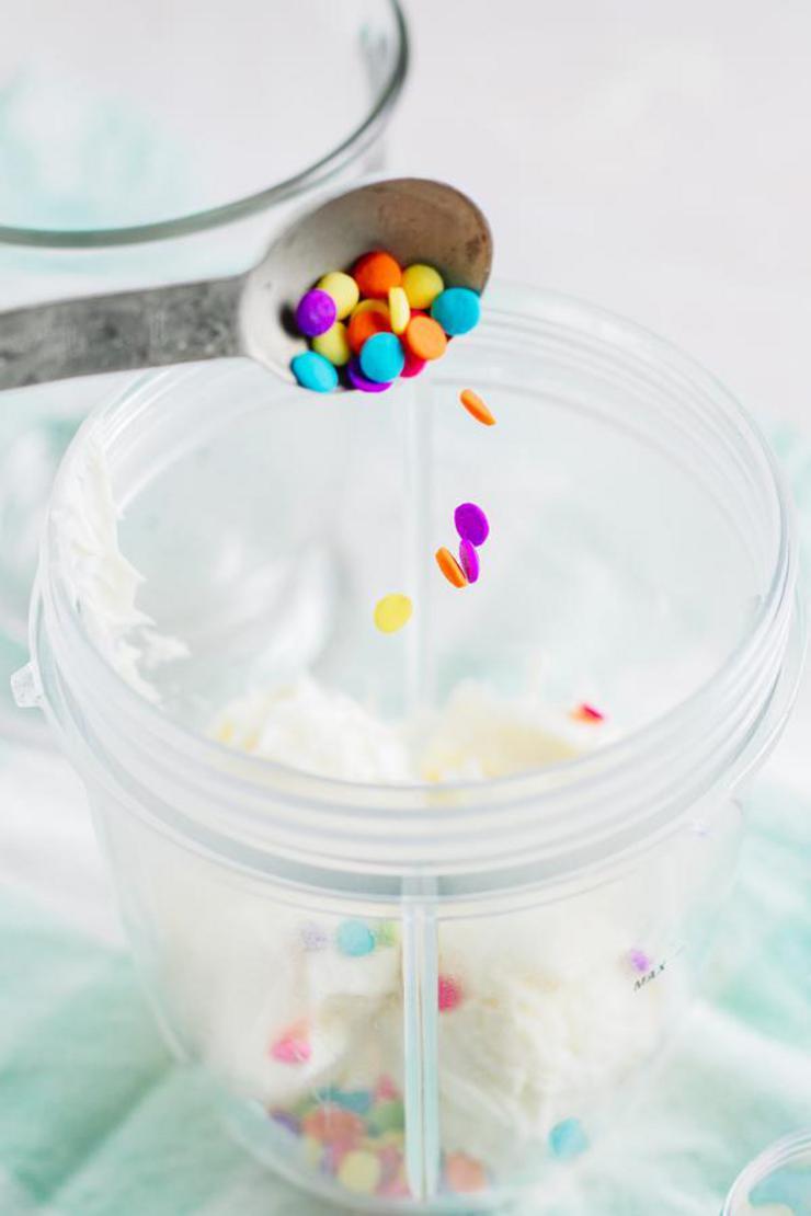 Kids Party Food Unicorn Milkshake