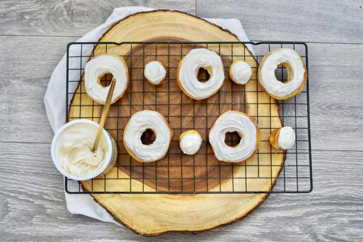 3 Ingredient Air Fryer Donuts