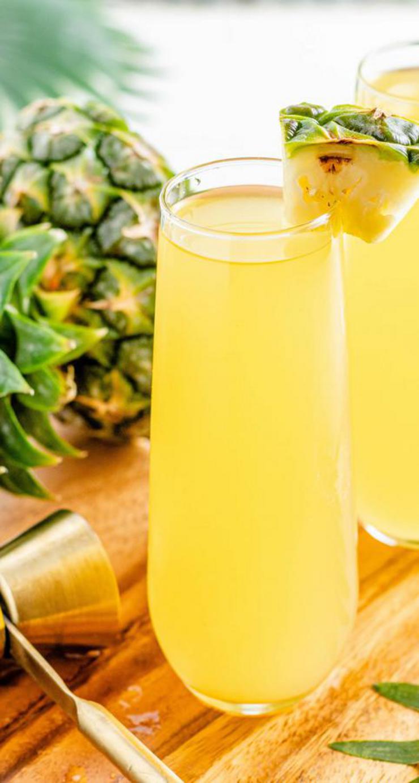 Alcohol Drinks Hawaiian Mimosa