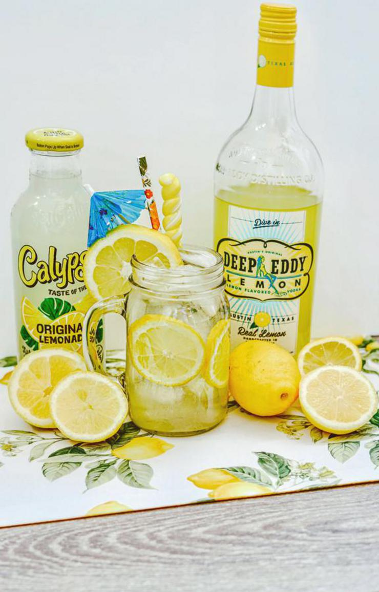 Alcohol Drinks Vodka Lemonade