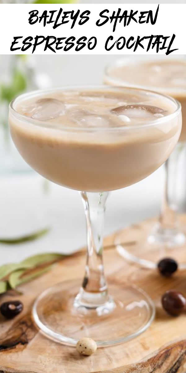 Alcoholic Drinks – BEST Baileys Shaken Espresso Cocktail Recipe – Easy and Simple Alcohol Drinks