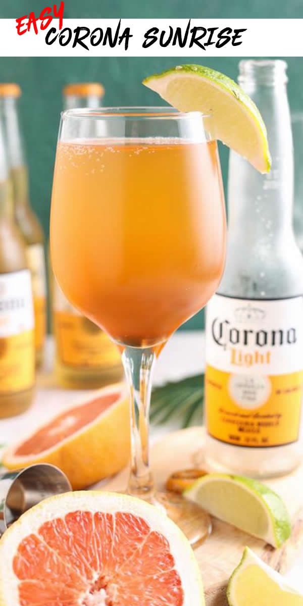 Alcoholic Drinks – BEST Corona Sunrise Cocktail Recipe – Easy and Simple Alcohol Drinks
