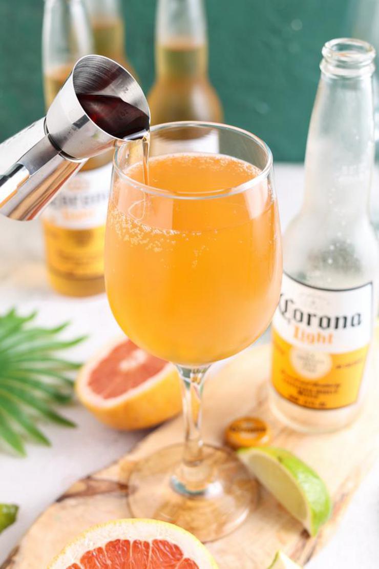 Alcohol Drinks Corona Sunrise